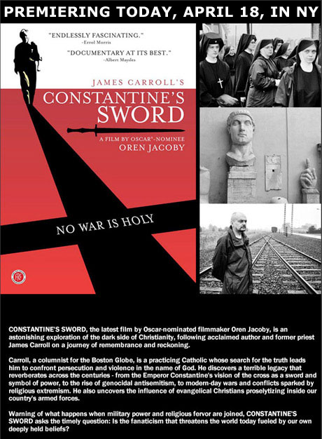 Constantines Sword Ad