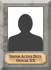 Senior Active Duty Officer X